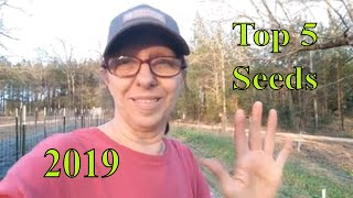 Top 5 Seeds for 2019