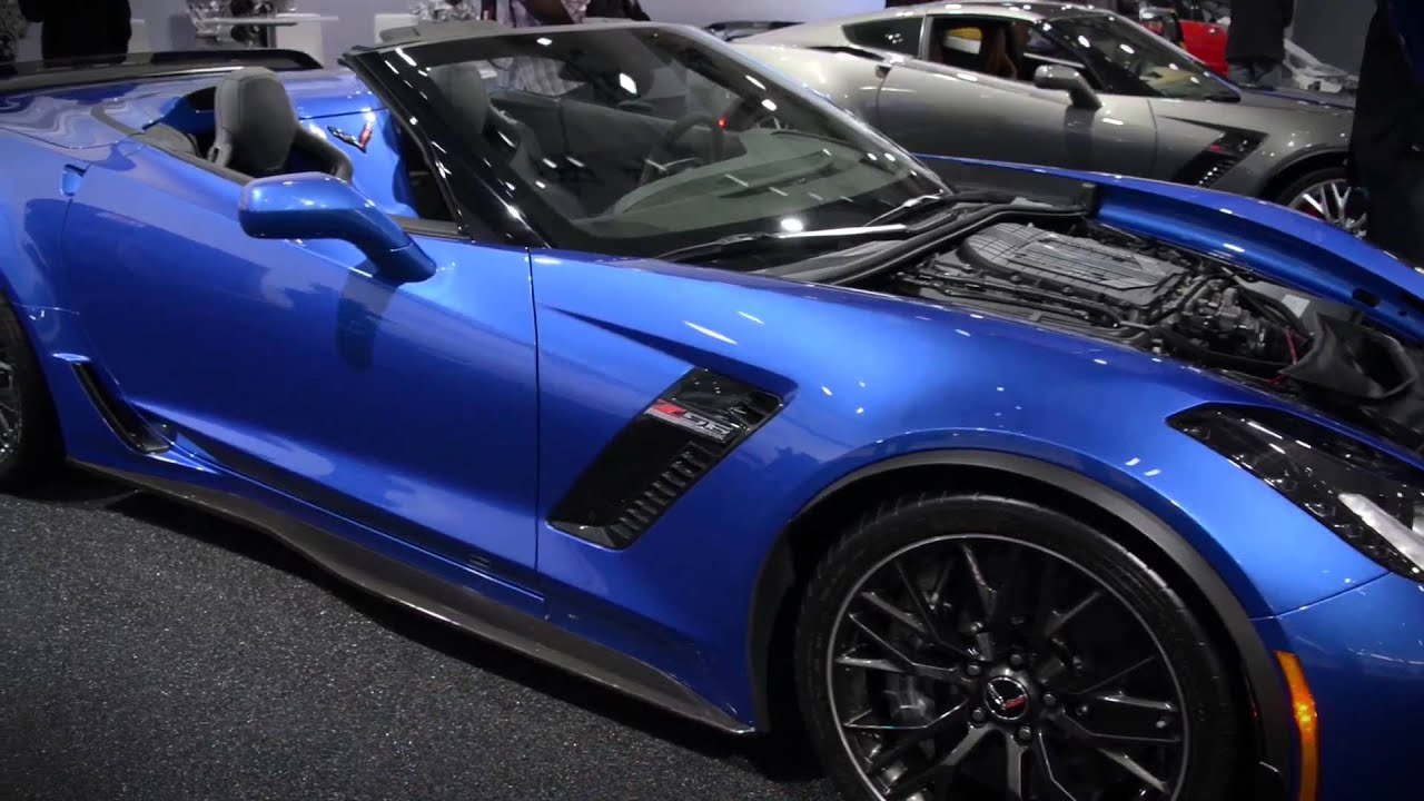 First Look: 2015 Chevrolet Corvette Z06 convertible - YouTube
