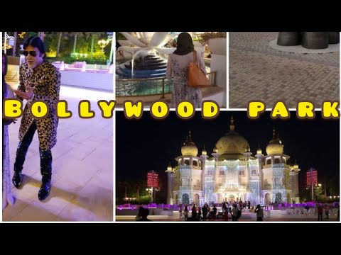 DUBAI DAY 3 | BOLLYWOOD PARK | RIVERLAND | Shahrukh, Salman & Amitabh superstar!