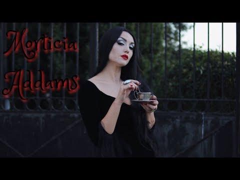 Morticia Addams Halloween 2017 Dirty Closet Youtube