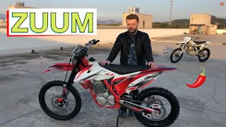 """Обзор новой марки ZUUM, """"воздушки"""" с 172mm мотором. Первая воздушка в алюминиевой раме."""