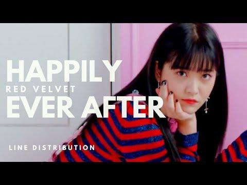 레드벨벳 RED VELVET - HAPPILY EVER AFTER || Line Distribution