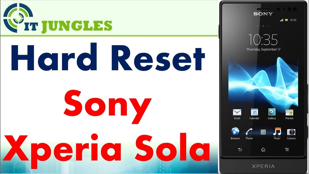 Sony Xperia Sola Recovery Mode Videos - Waoweo