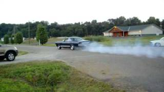 1966 mercury Comet burnout