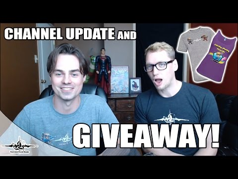 Channel Update and GIVEAWAY!  *COMPLETED*
