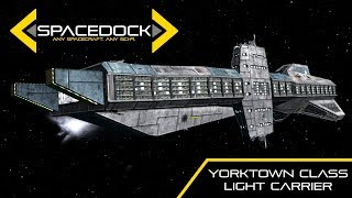 wing commander yorktown class light carrier spacedock