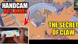 THE SECRET of 3 FINGERS!! CLAW HANDCAM GAMEPLAY PUBG Mobile
