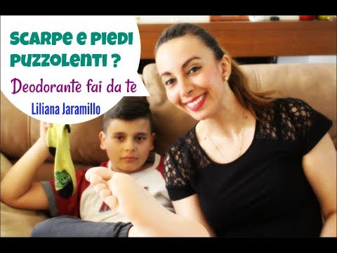 Scarpe E Piedi Puzzolenti Deodorante Fai Da Te Youtube