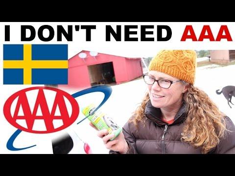 I Don't Need AAA To Save Me - I'm Swedish