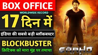 Saaho Box Office Collection, Blockbuster Movie, Saaho 16th Day Collection, Saaho 17th Day Collection