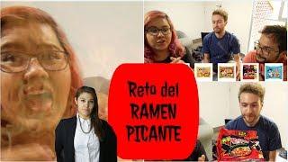 figcaption RETO del Ramen SÚPER Picante (SUPER Spicy ramen challenge)  ♥ #DTEC