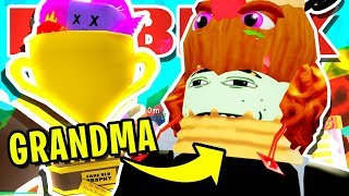 GRANDMA PLAYS ROBLOX BUBBLEGUM SIMULATOR E COSA NON SARÀ SHOCK YOU !! [AGGIORNAMENTO 20]!