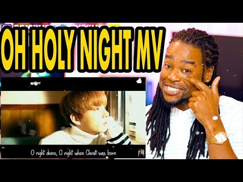BTS Jung Kook's Christmas Carol (Oh Holy Night) | REACTION!!