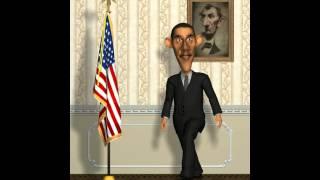 Talking Obama! Серия 1! Говорящий Обама! Президент США Барак Обама - Прикол!