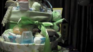 Step by Step Diaper Cake Tutorial, Animal Theme for Boys & Girls