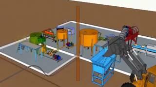 Производство гумата калия из сапропеля или торфа