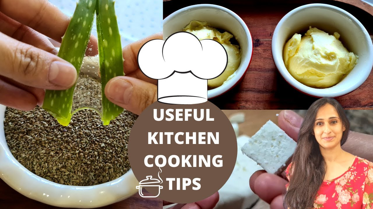 12 Useful Cooking Tips & Kitchen Tricks That Will Save Your Time | Indian Kitchen Tips and Hacks!
