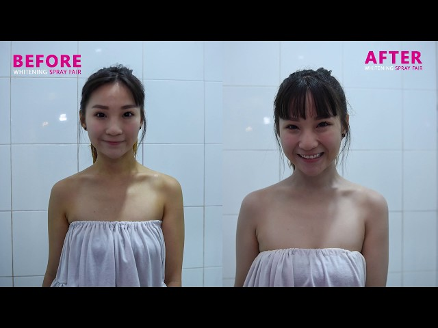 Skin Whitening in 87 seconds - Whitening Spray Fair