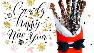 DIY:  Новогодние сладости своими руками!  БЕЗ ГОТОВКИ!