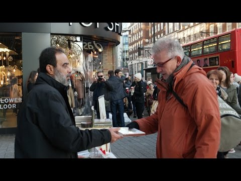 Read! Infostand in London am 06.12.2014