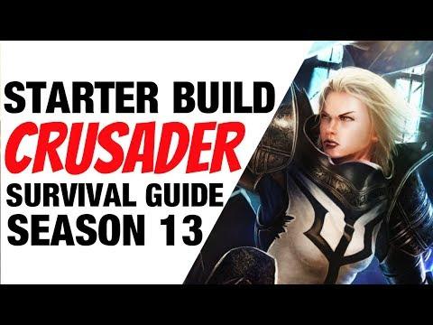 Diablo 3 Crusader Starter Build Season 13 Invoker Guide