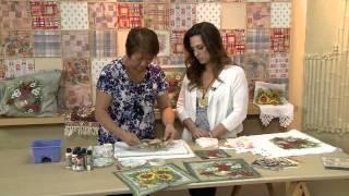 Artesanato: Decoupagem com guardanapo artesanal