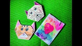 Валентинка оригами своими руками Valentine origami do it yourself