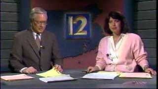 WPRI 12 Providence - 11PM News - 1987