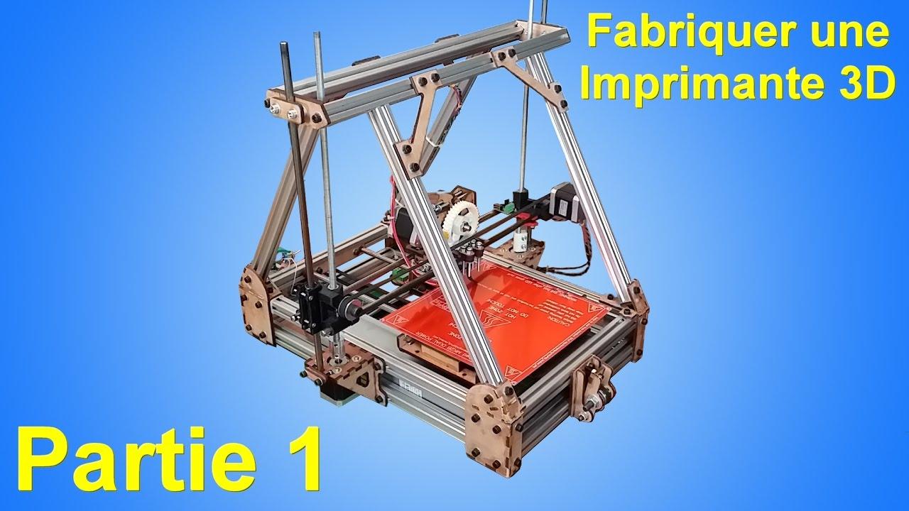 fabriquer une imprimante 3d part 1 youtube. Black Bedroom Furniture Sets. Home Design Ideas