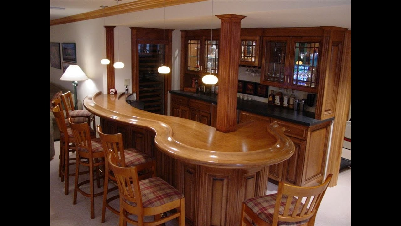 Design and Plan to Build Your Own Custom Home Bar | In Home Bar ...