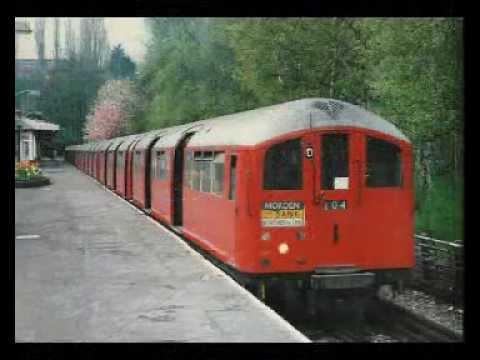 "1938 Stock ""Starlight Express"" train on London Underground Northern line 1987 (audio)"