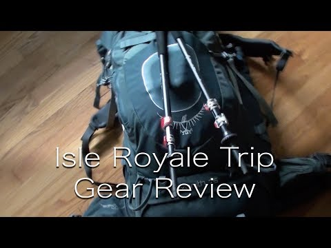Isle Royale Gear Review