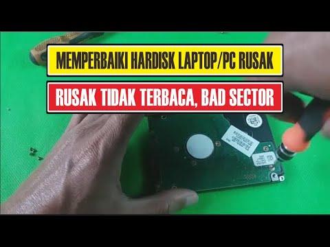 #12, Memperbaiki Hardisk Rusak Tidak Terbaca, Bad Sector, Lambat, Lemot, Milik User Ciherang Subang