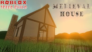 Roblox Speed Build: SIMPLE Medieval House
