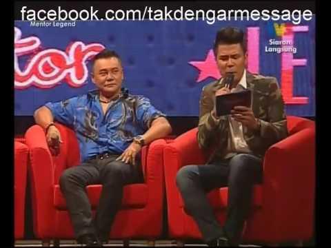 nadeera mentor legend 2014 karena ku sanggup agnes monica ( best malaysian voice live )