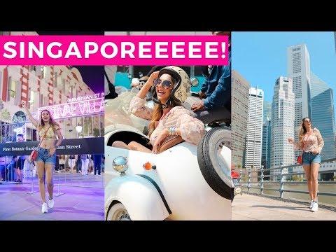 VLOG | Exploring Singapore - Food, Shopping, Museums! 🇸🇬
