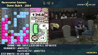 Mr Driller: Drill Spirits :: Live SPEED RUN (0:09:53) by Jarvitz #AGDQ 2014