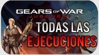 Gears Of War Judgment: TODAS LAS NUEVAS EJECUCCIONES #GearsReaper
