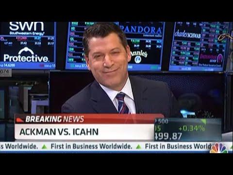 Billionaire Brawl: Icahn vs. Ackman | CNBC