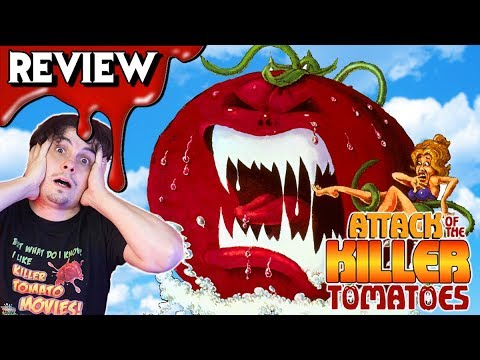 ATTACK OF THE KILLER TOMATOES (1978) ? Horror Comedy Movie Review