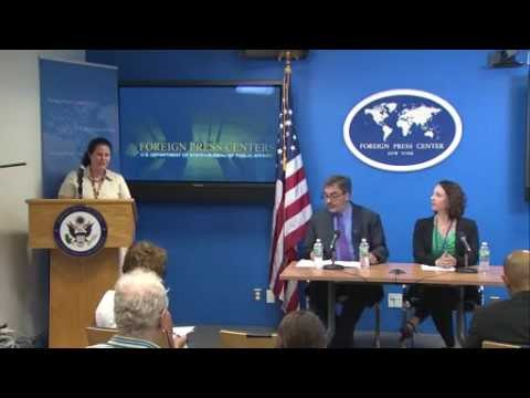 NATO News: Foreign Press Briefing w/ Animation Intro - Update from Refugee Settlement Crisis.