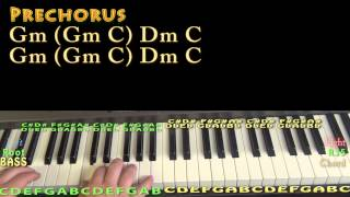 A Thousand Years (Sawyer Fredericks) Piano Lesson Chord Chart