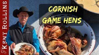 Baked Cornish Game Hens with Cream Gravy