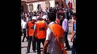 مسرح جريمة القتل العمد بمدينة جرادة