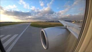 Swiss Boeing 777 Take Off Hannover Airport