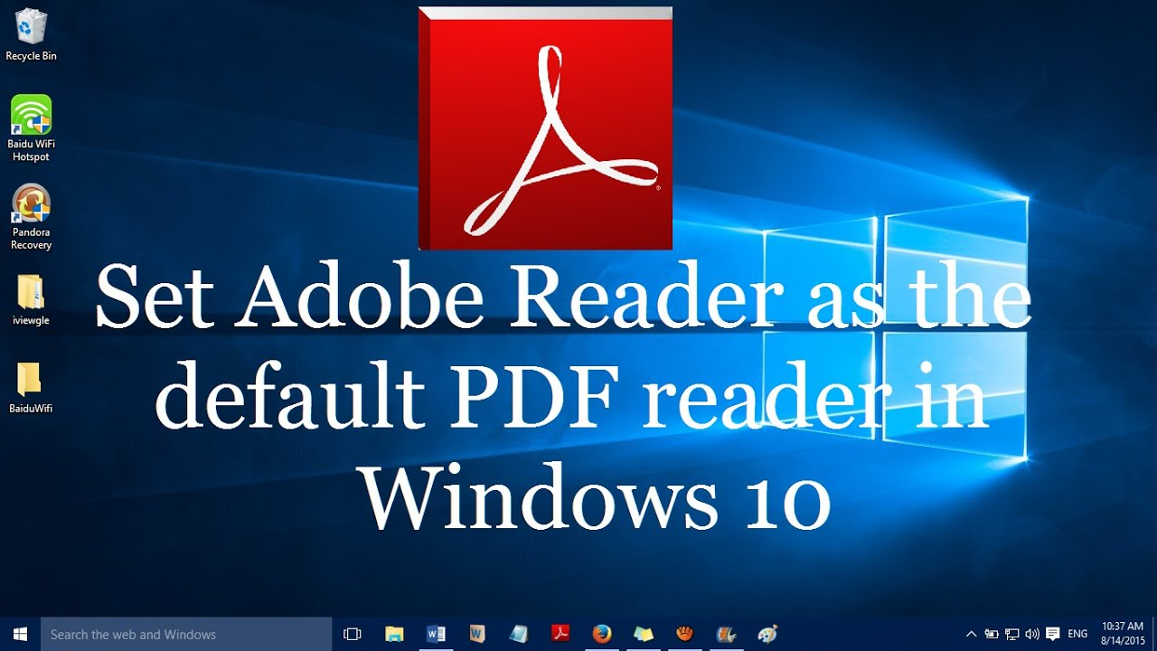 pdf reader software download for windows 10