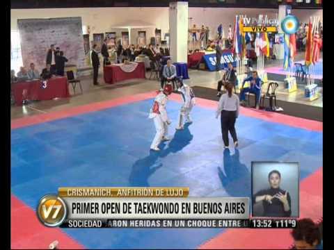 Visión 7: Primer Open de Taekwondo en Buenos Aires