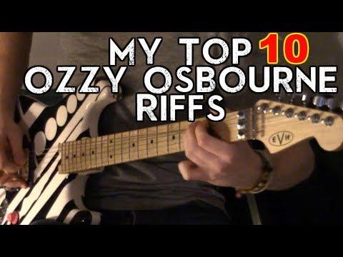 My Top 10 Ozzy Osbourne Riffs Mp3