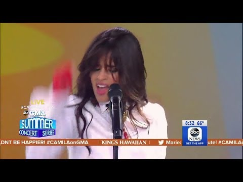 Camila Cabello performs her latest hit 'Consequences' Live on GMA