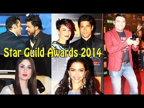 UNCUT - Bollywood Celebs @ Red Carpet Of 9th Renault Star Guild Awards 2014